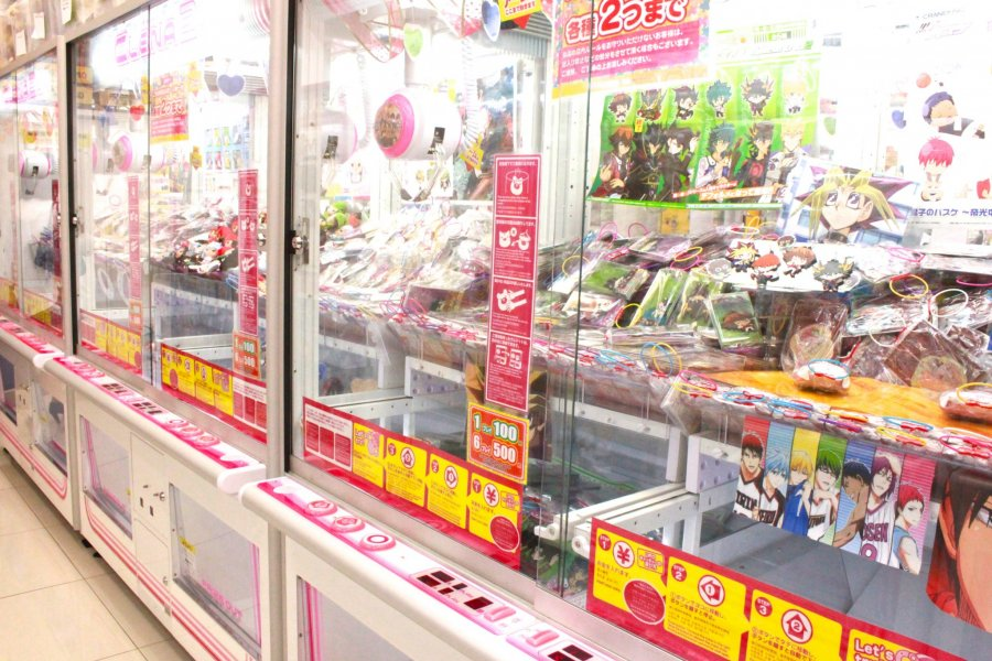 Game Center Bertema Anime di Akihabara