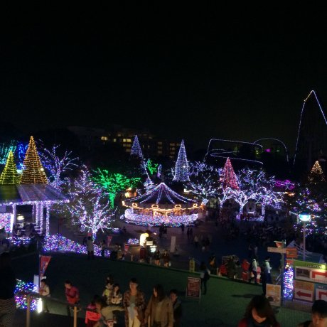 Jewellumination di Yomiuri Land